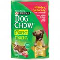 Alimento Para Cães Dog Chow Sachê 100Gr Filhote Tdtm Carne