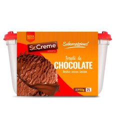 Sorvete Sr.creme 2Lt Chocolate