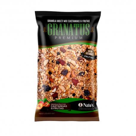 Granola Granatus Premium 500gr Castanhas