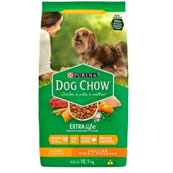 Ração Dog Chow Peq Adulto 10,1Kg Extra Life