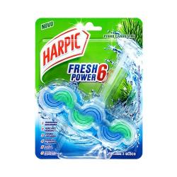 Bloco Sanitário Harpic Fresh Power6 Pinho
