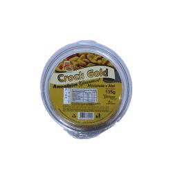 Amendoim Crock Gold Gourmet Pote 135Gr Mostarda E Mel