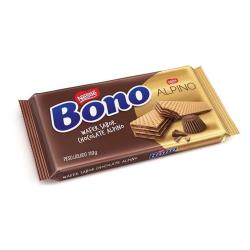 Biscoito Wafer Nestlé Bono 110gr Alpino
