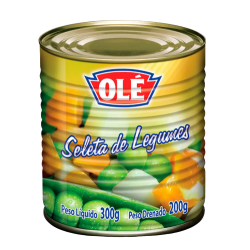 Seleta de Legumes Olé Lata 170gr