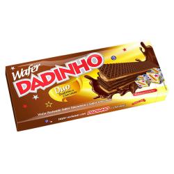 Biscoito Wafer Dadinho 130gr Chocolate /