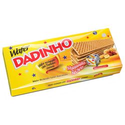 Biscoito Wafer Dadinho 130gr Amendoim
