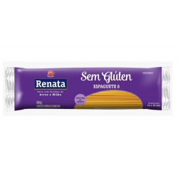 Macarrão Sem Glúten Renata 500g Espaguet