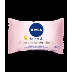Sabonete Nivea 85Gr Talco E Oleo De Amendoas
