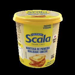 Manteiga Scala 500gr com Sal