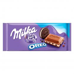 Chocolate Milka 100gr Oreo