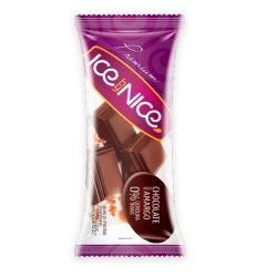 Picolé Ice by Nice Chocolate Meio Amargo
