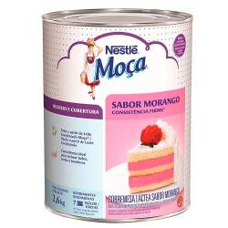 Recheio Moça Nestlé 2,6kg Morango