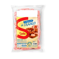 Linguiça Frango Sadia Kg Frente