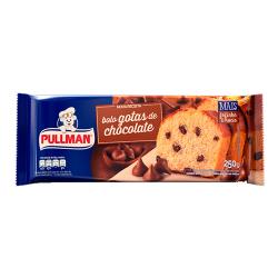 Bolo Pullman 250gr Gotas De Chocolate