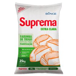 Farinha de Trigo Suprema 25kg Extra Clar