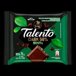 Chocolate Talento Dark 75gr Menta