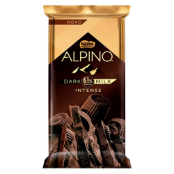 Chocolate Nestlé 85gr Alpino Dark Milk 6