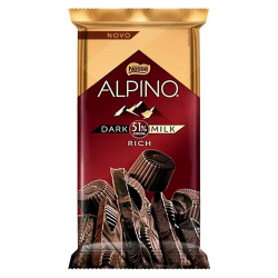 Chocolate Nestlé 85gr Alpino Dark Milk 5