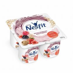 Iogurte Nesfit 360gr Frutas Vermelha Hib