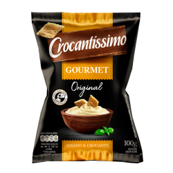 Torrada Gourmet Crocantíssimo 100gr Orig