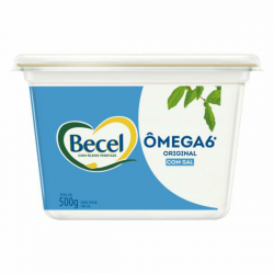 Creme Vegetal Becel 500gr Omêga 6 Origin