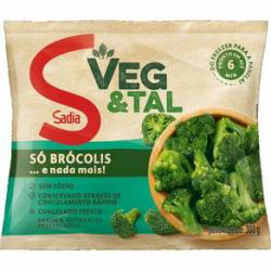 Brócolis Sadia Veg&tal 300gr Congelado