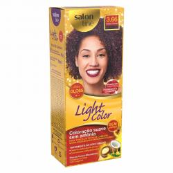 Coloração Salon Line Light 3.66 Bordeaux