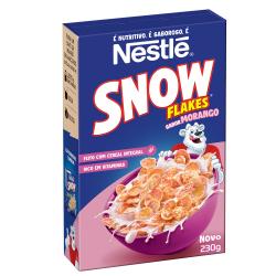 Cereal Nestlé Snow Flakes 230gr Morango