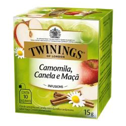 Chá Twinings Camomila Canela Maçã