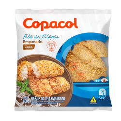 Filé Tilápia Copacol 400gr Empanado Coco