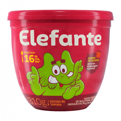 Extrato Tomate Elefante Pote 310gr