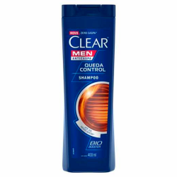 Shampoo Clear 400ml Men Queda Control