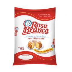 Farinha de Trigo Rosa Branca 1kg com Fer