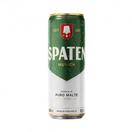 Cerveja Lata 350ml Spaten Puro Malte