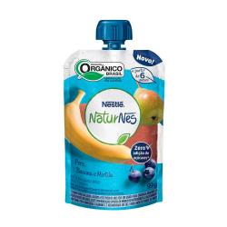 Purê Orgânico Naturnes Nestlé 99gr Pera\