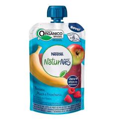 Purê Orgânico Naturnes Nestlé 99gr Ban\M