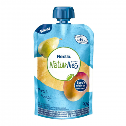 Purê Naturnes Nestlé 99g Pêra Manga