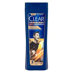 Shampoo Clear 400ml Men Limpeza Profunda