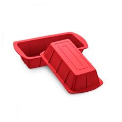 Forma Silicone Mor Vermelha